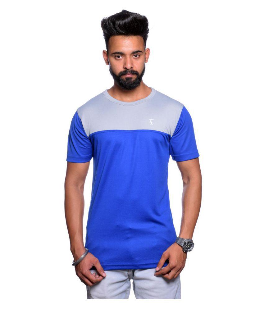 Hunkmart Multi High Neck T-Shirt