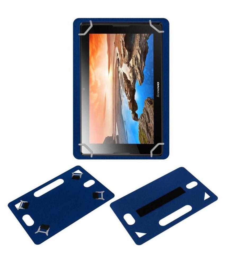 Lenovo Ideatab A10-70 A7600 Plain Back Cover By ACM Blue