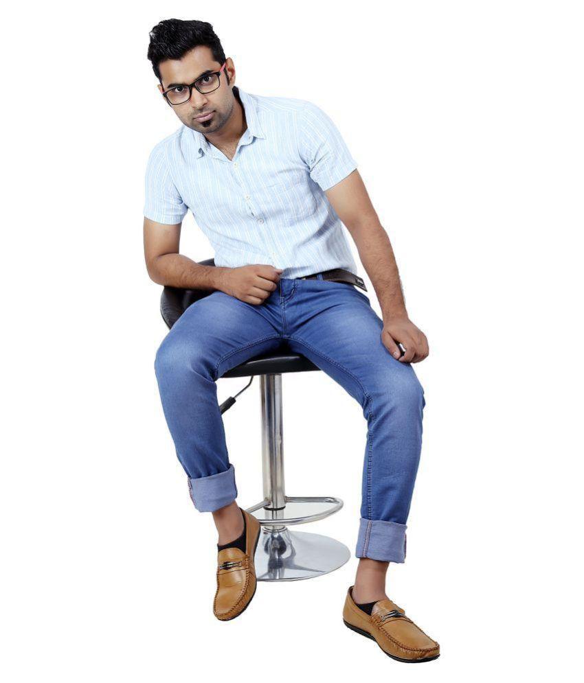 Inspire Next Blue Skinny Jeans