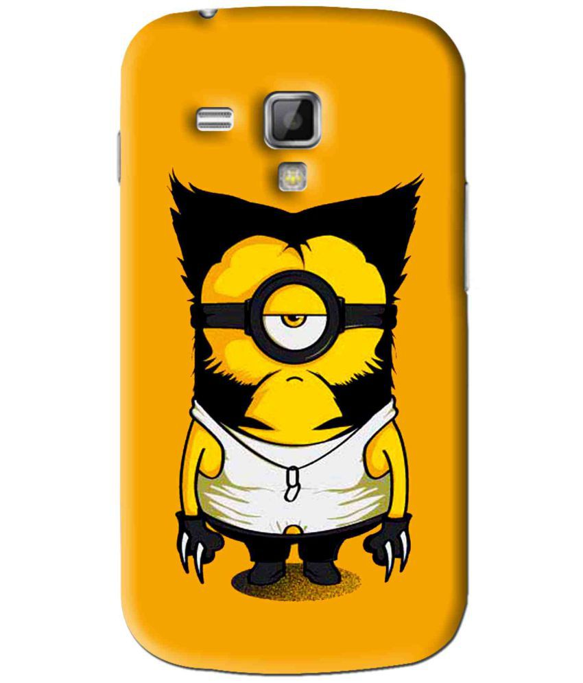 Samsung Galaxy S Duos S7562 Printed Cover By Snooky