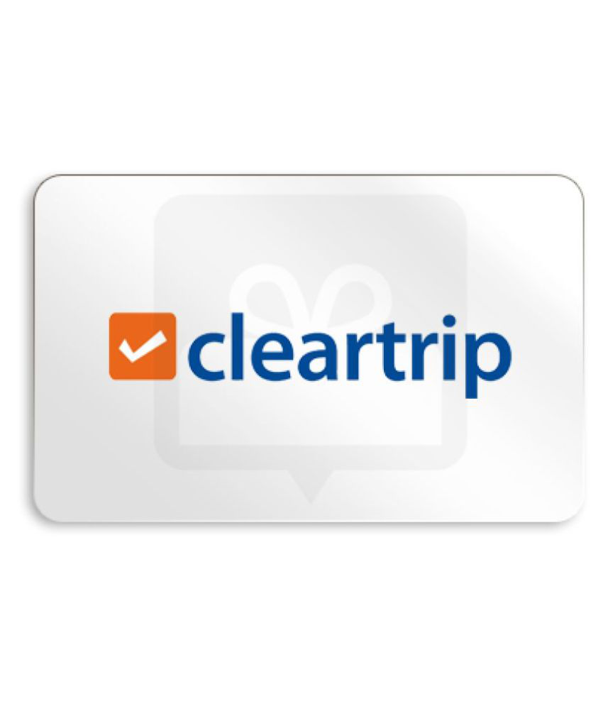 Cleartrip Gift Card 2000 - Delivered via Email