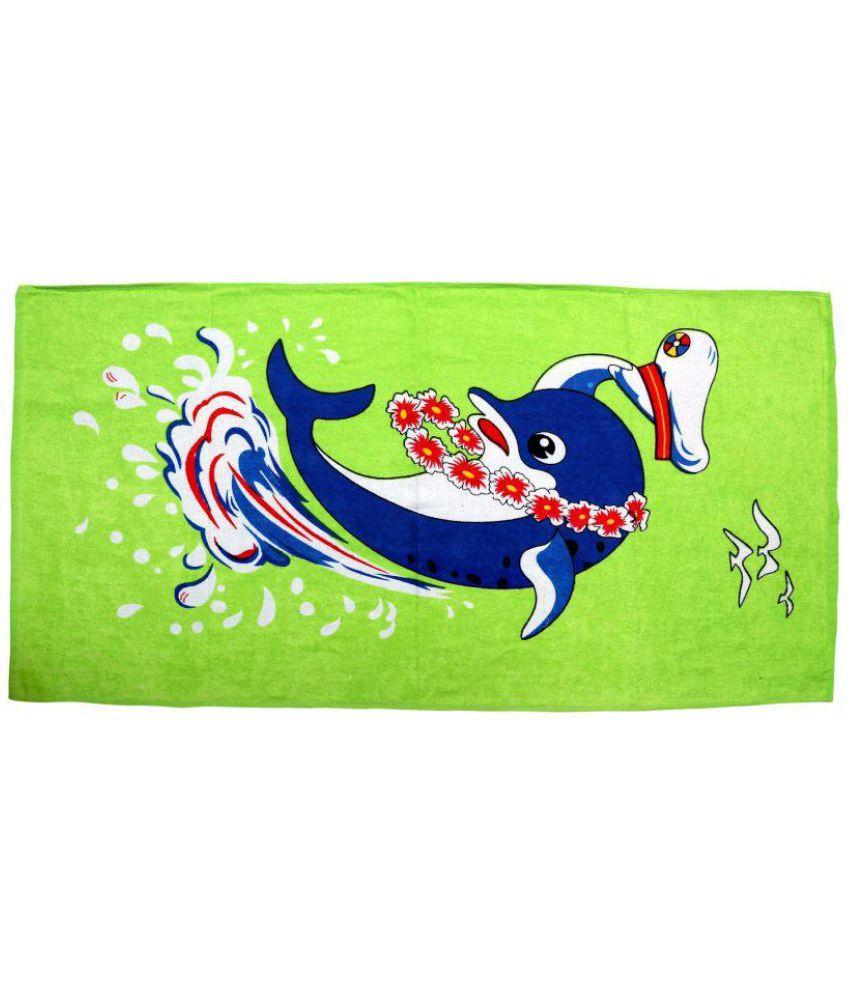 BcH Green Cotton Bath Towels 1 Pc