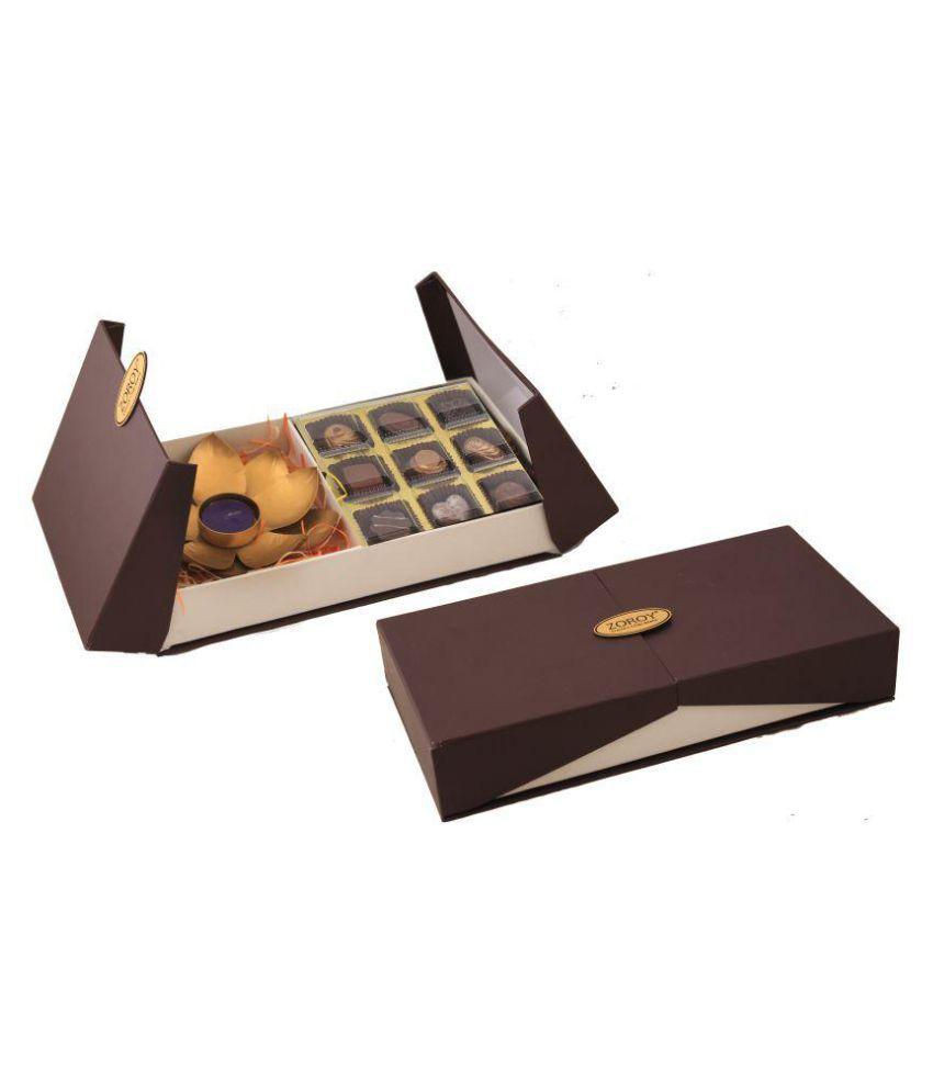 Zoroy Luxury Chocolate Assorted Box Diwali Festive Combo  234.5 gm