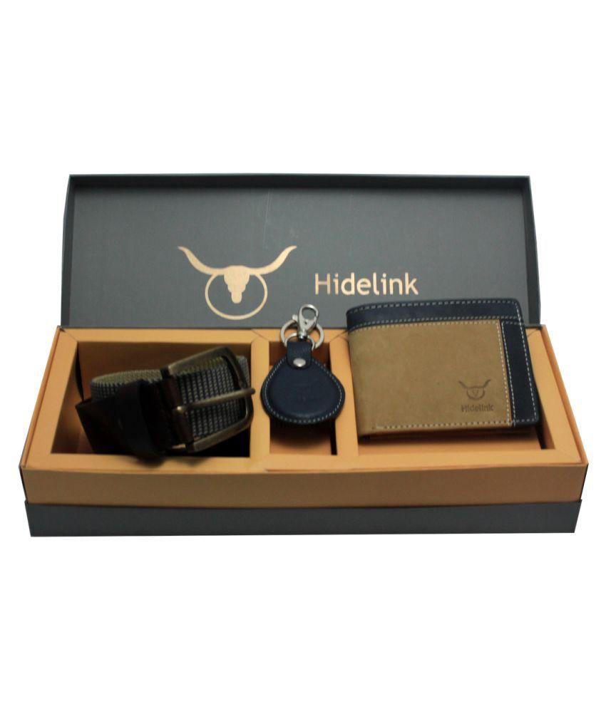 Hidelink Multi Leather Combo Belts