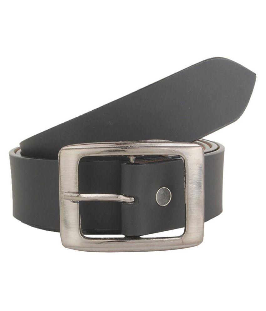 Variety Black Leather Formal Belts