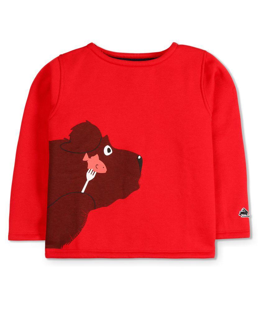 Cherry Crumble Bear Breakfast Sweatshirt