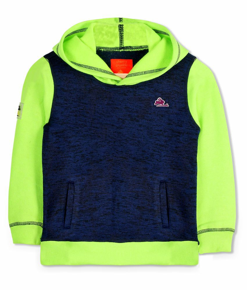Cherry Crumble Bright Hooded Sweatshirt