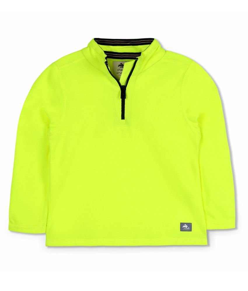 Cherry Crumble Half-Zip Sweatshirt