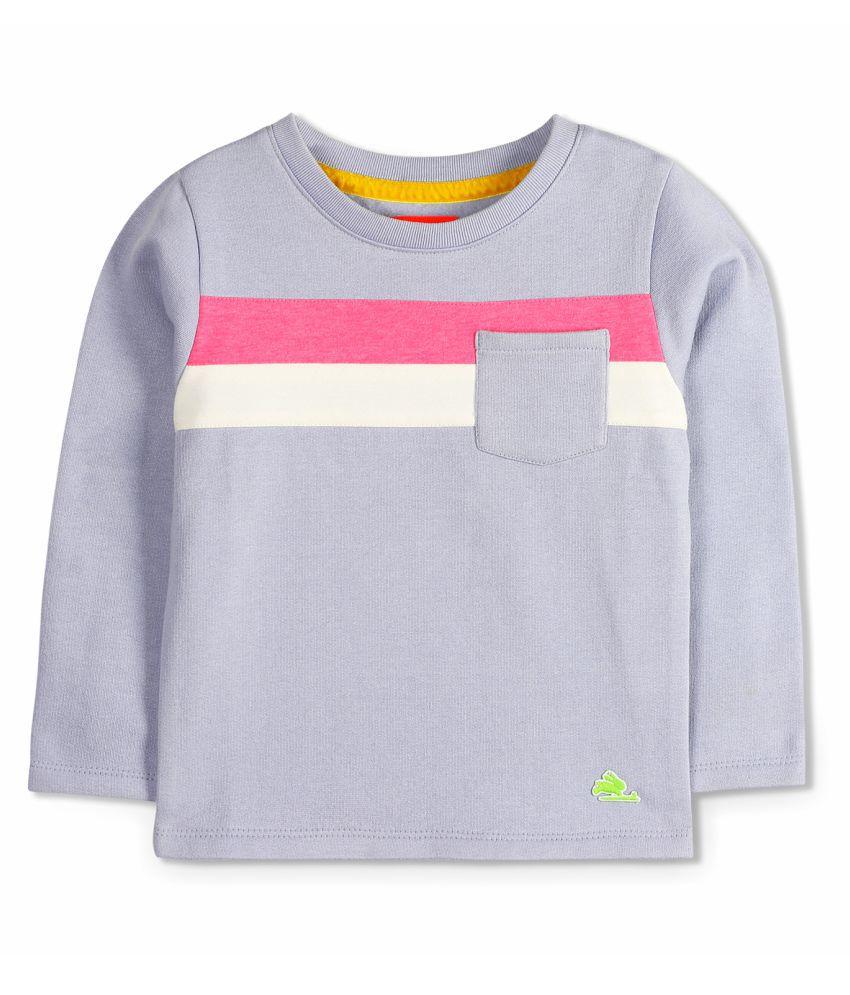 Cherry Crumble Soft Colorblock Sweatshirt