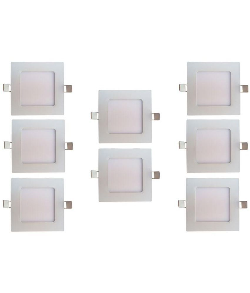 Bene 12W Square Ceiling Light 17 cms. - Pack of 8