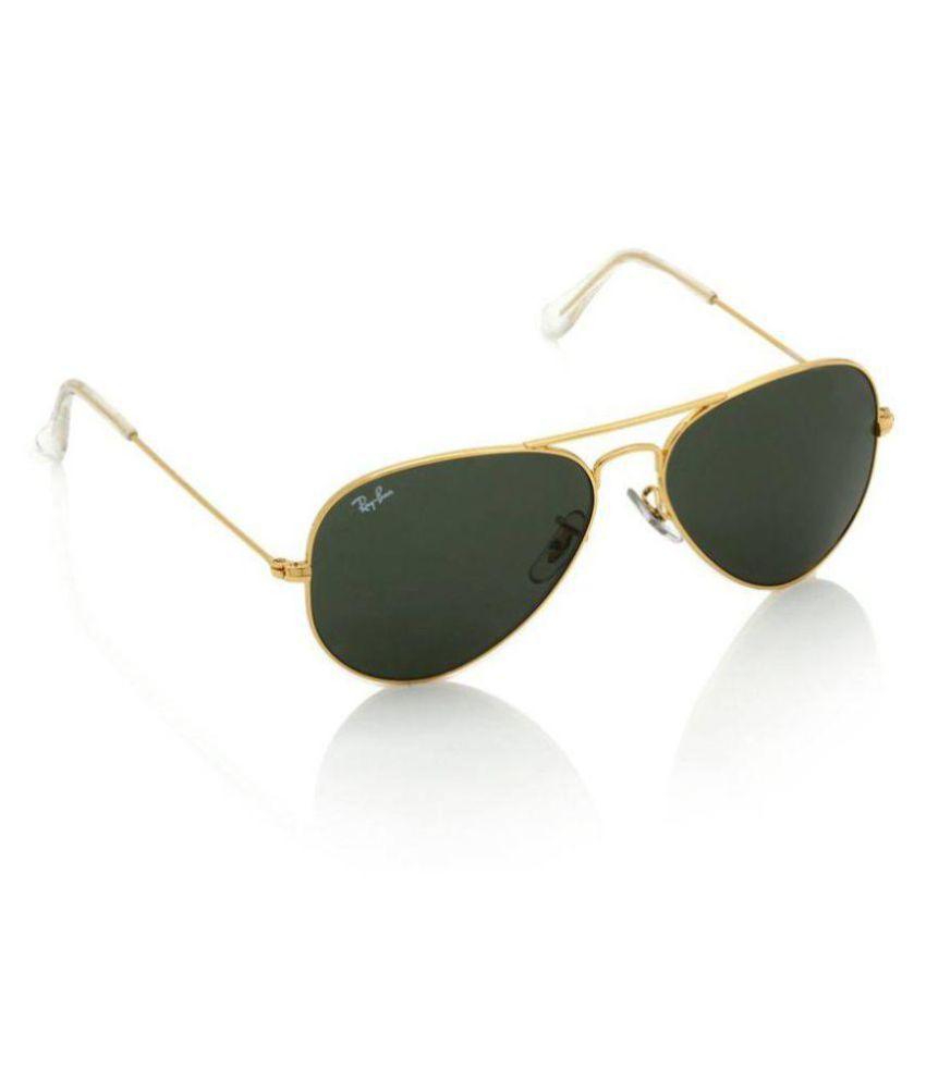 Ray Ban Sunglasses Grey Aviator Sunglasses ( RB3025 )