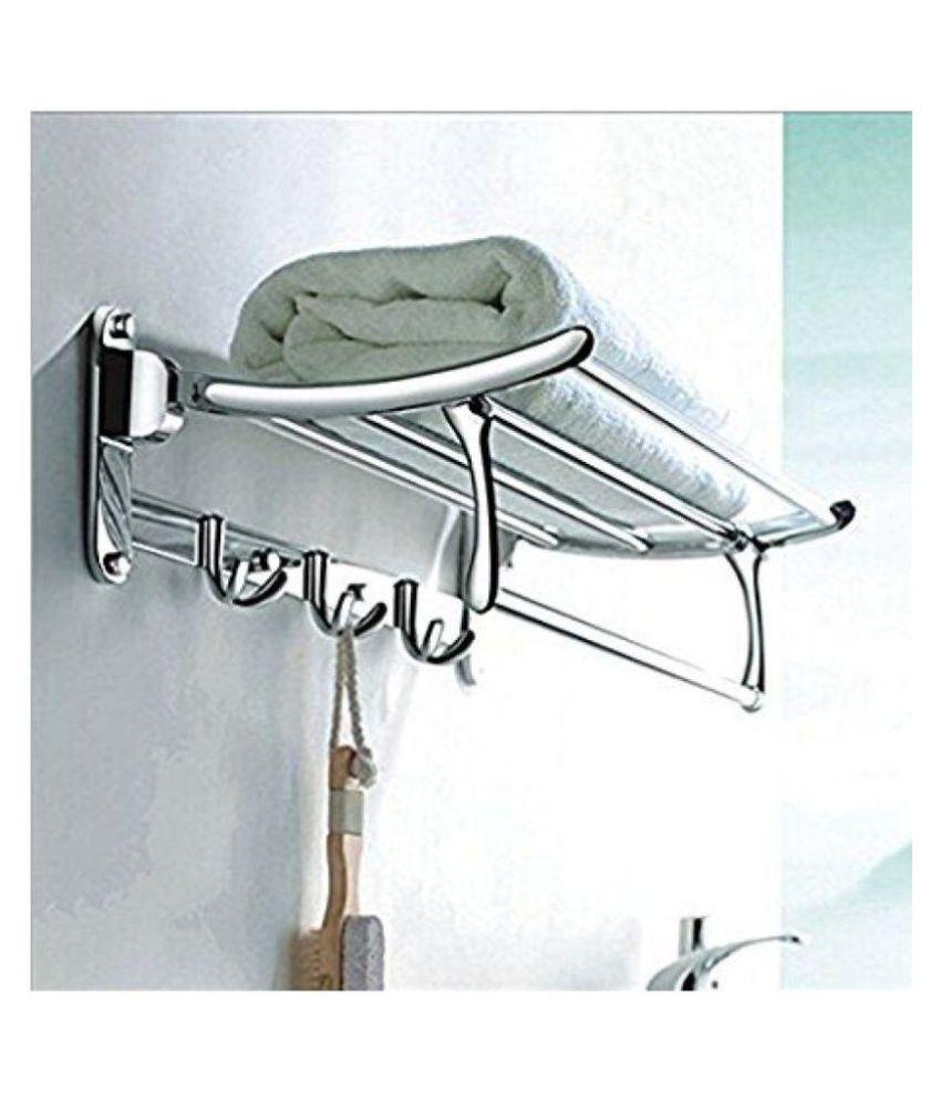 Buy Handy Folding Stainless Steel Towel Rack