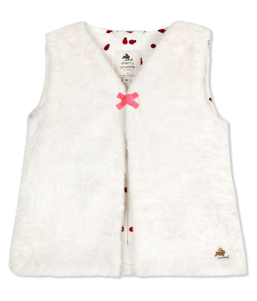 Cherry Crumble English-Fur Gilet