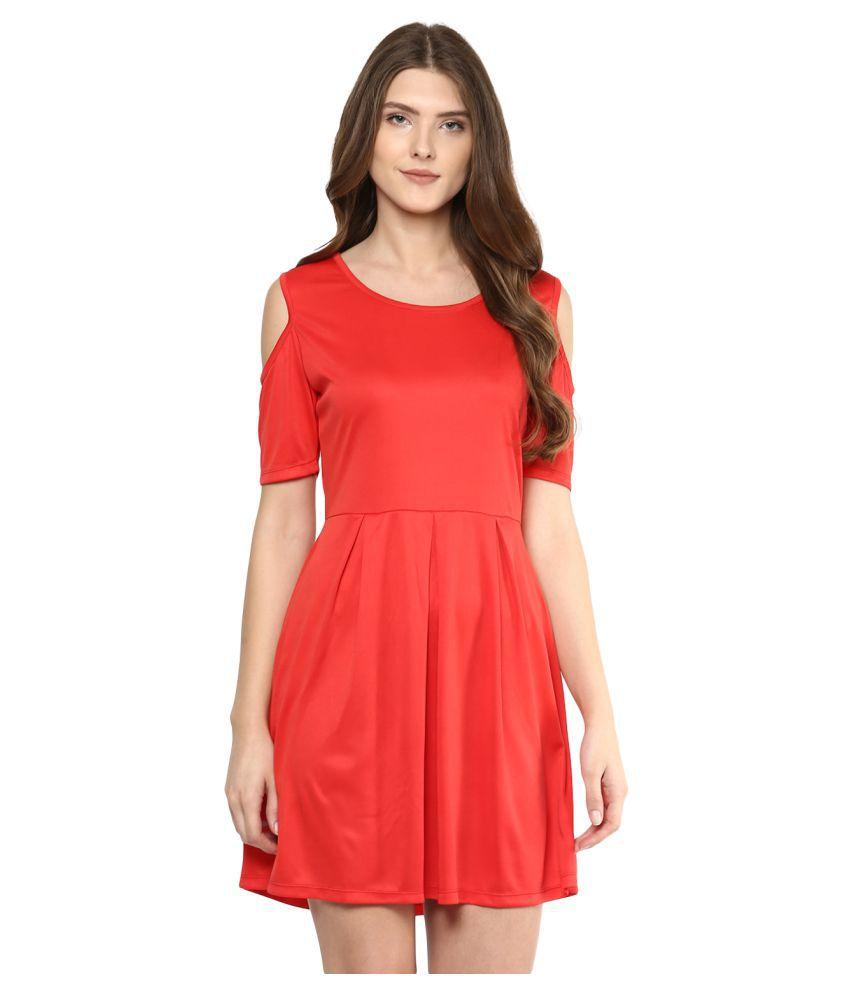D'amor Polyester A- line Dress