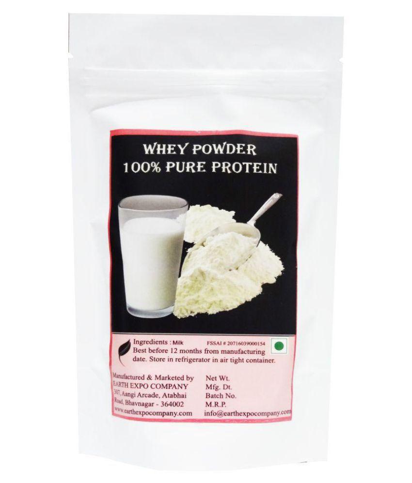EARTH EXPO COMPANY Whey Protein Powder 400 gm