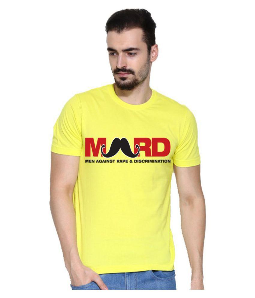 Lime Yellow Round T-Shirt