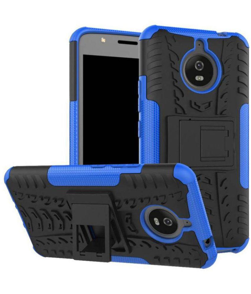 Motorola Moto E4 Plus Cases with Stands Bracevor - Blue