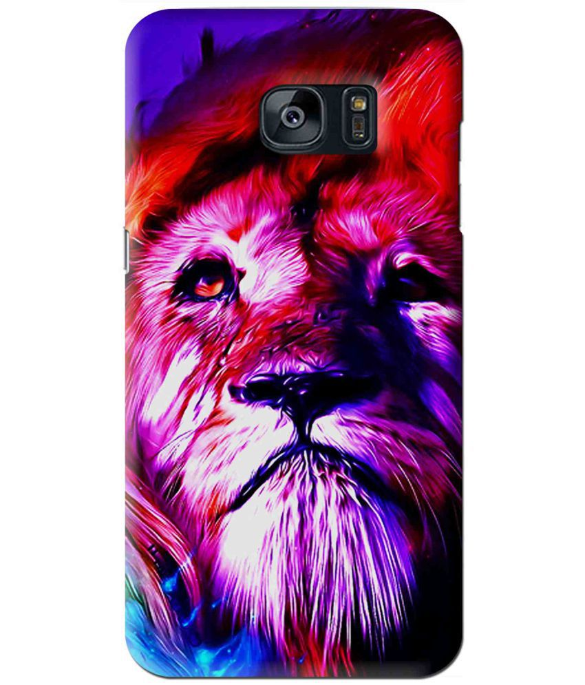 Samsung Galaxy S7 Printed Cover By Snooky