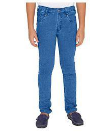 OVO Boys Solid Light Blue Jeans