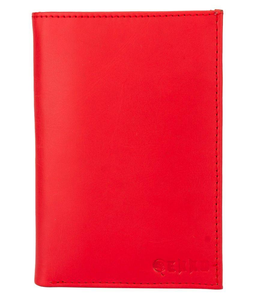 Gekko Red Pure Leather Handheld