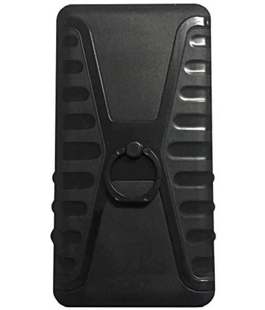 Micromax Vdeo 5 Q4220 Plain Cases Aravstore - Black
