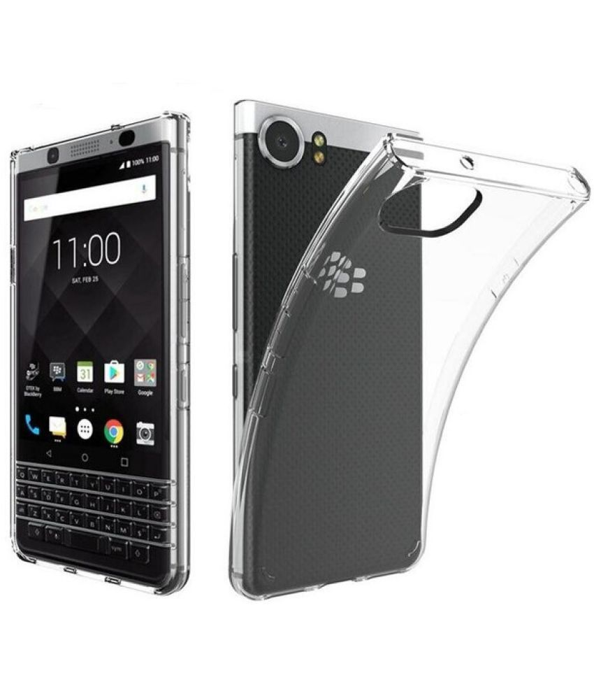 huge discount a2a00 40257 BLACKBERRY KEYONE Soft Silicon Cases SpectraDeal - Transparent