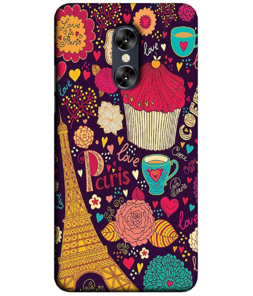 new arrival 7a827 9711c Micromax Evok Dual Note Printed Cover By Treecase - Printed Back ...
