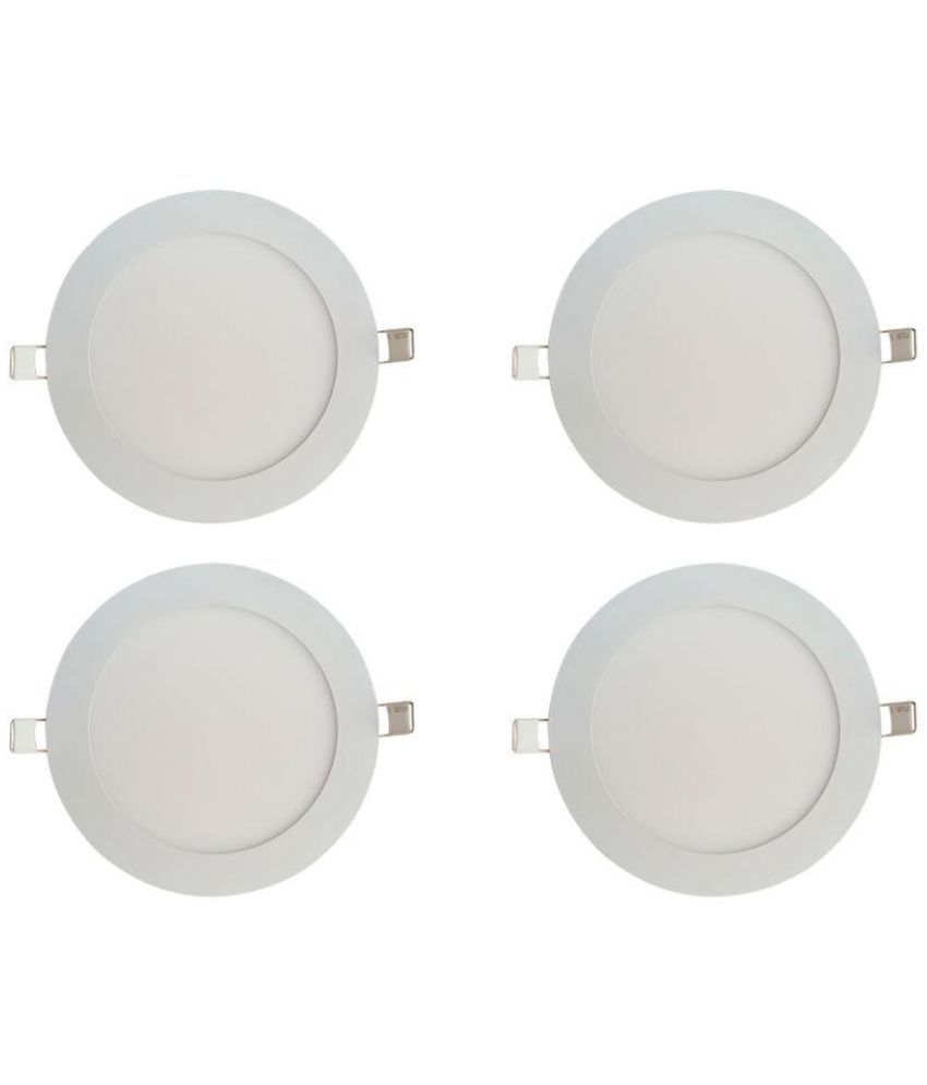 Bene 18W Round Ceiling Light 22 cms. - Pack of 4