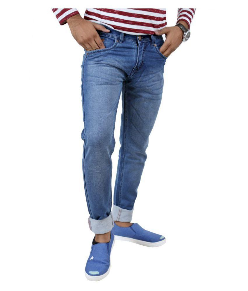 Inspire Next Blue Regular Fit Jeans