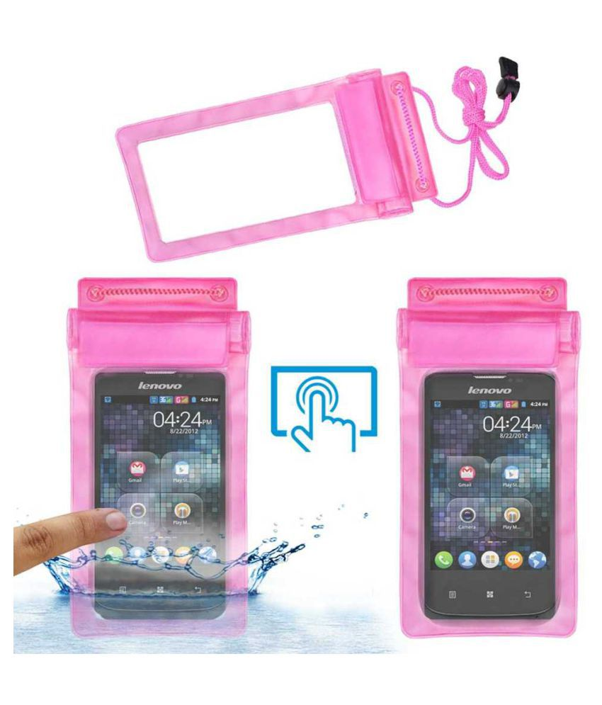 Lenovo A60+ Holster Cover by ACM - Pink