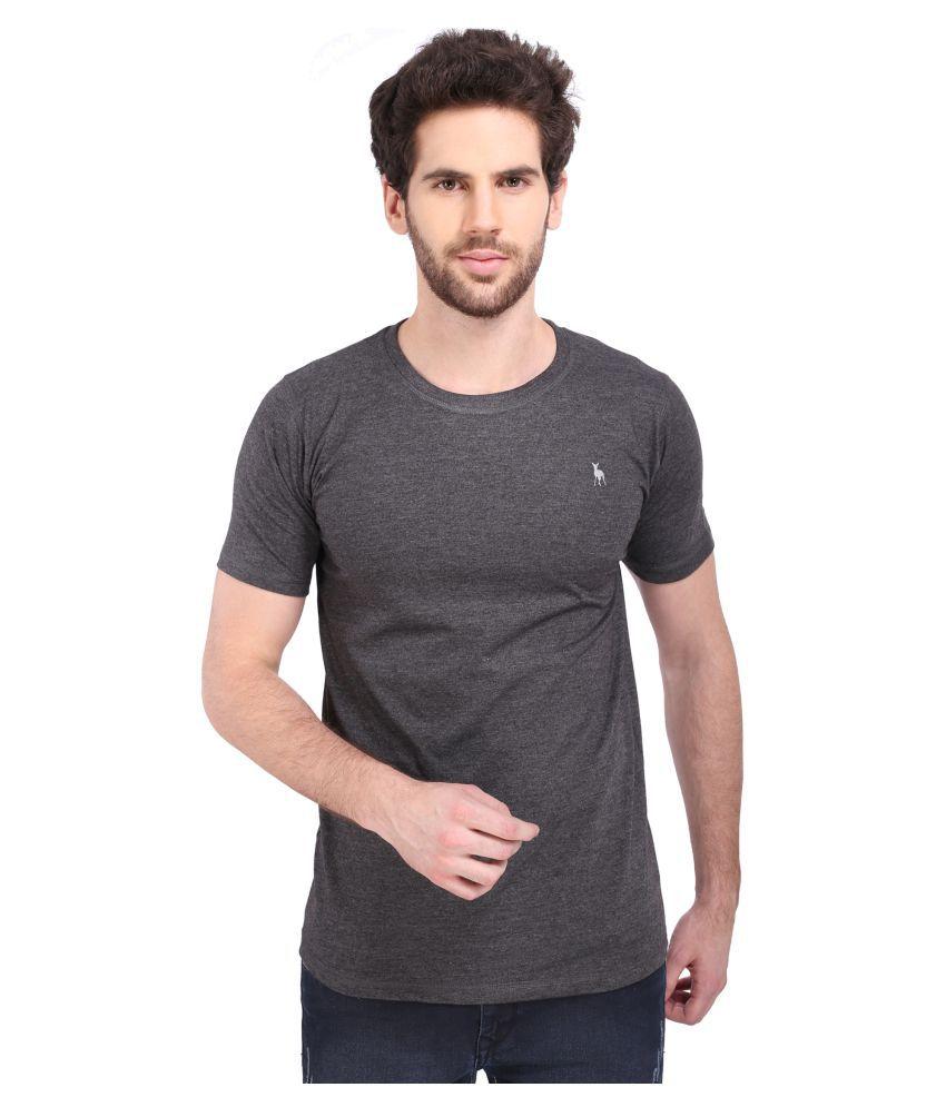 Bisq Grey Round T-Shirt