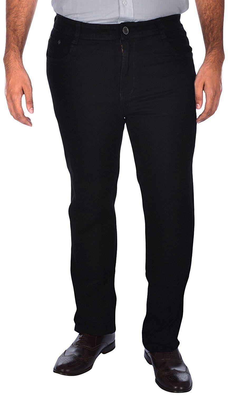 Asaba Black Straight Jeans