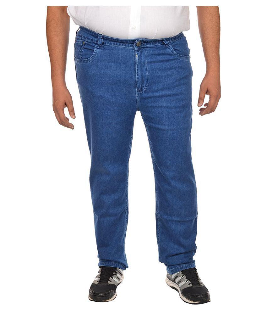 Asaba Blue Straight Jeans