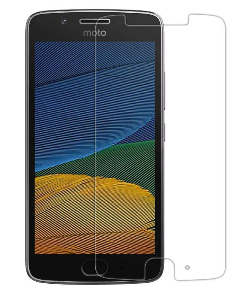 Motorola Moto G5 Plus Tempered Glass Screen Guard By Spectacular Ace