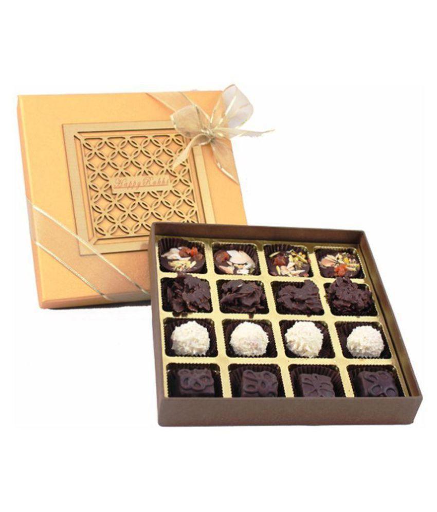ZOROY LUXURY CHOCOLATE For brother /  Sister Assorted Box Rakhi and Rakshabandhan Chocolate Gift 500 gm