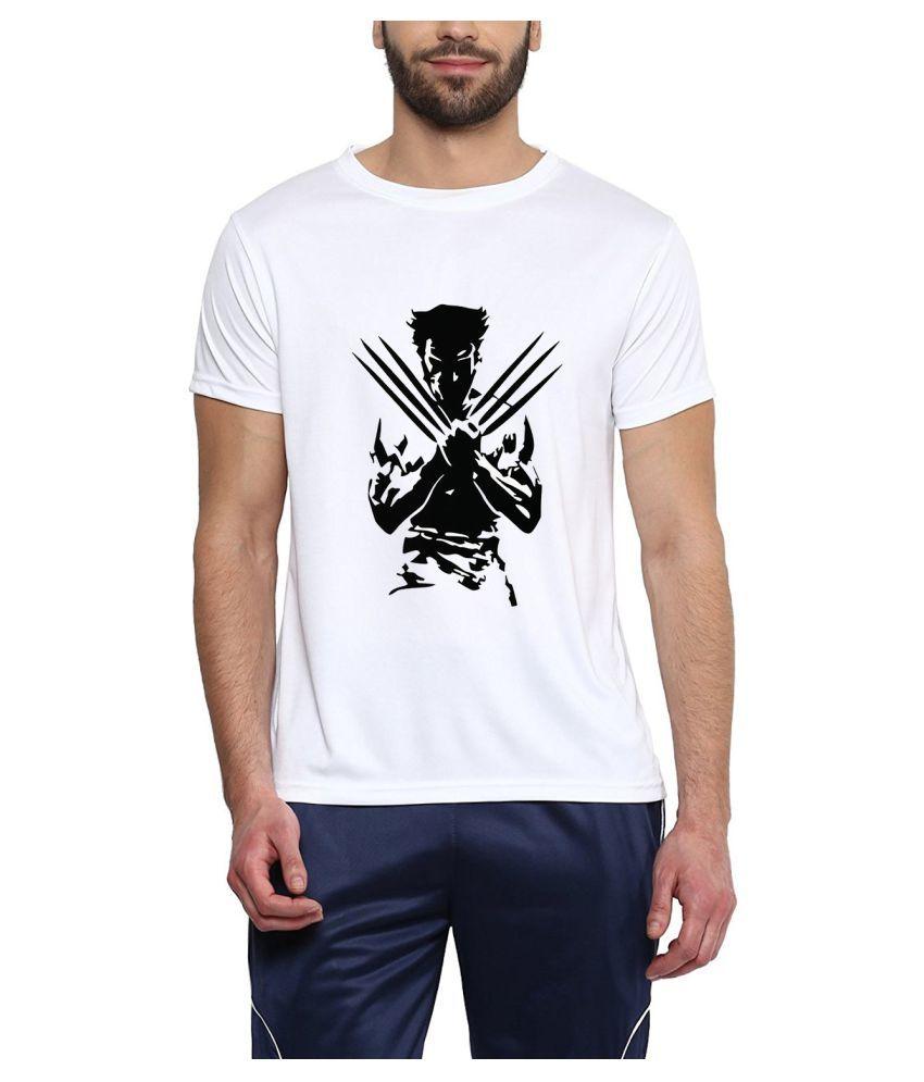 Brandsoon White Round T-Shirt