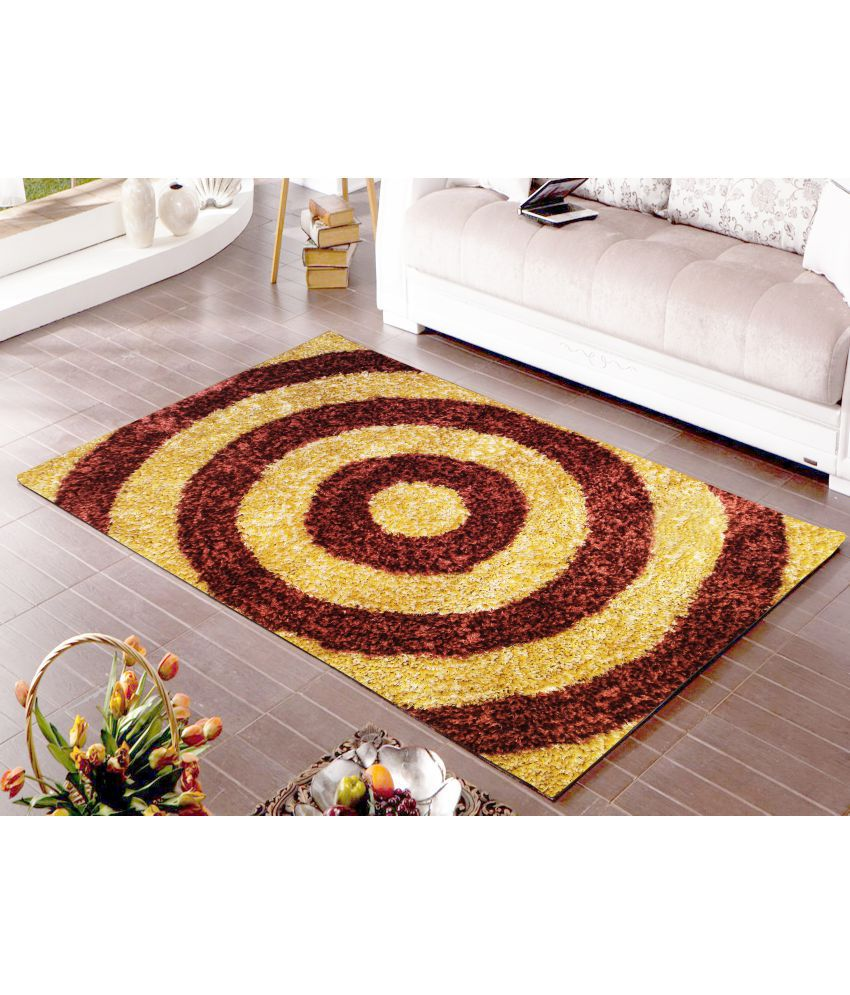 Story@Home Multi Polyester Carpet Geometrical 3x5 Ft.