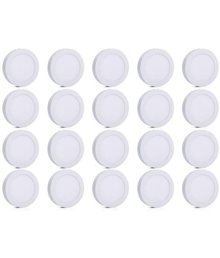 Bene 6W Round Ceiling Light 12 cms. - Pack of 20