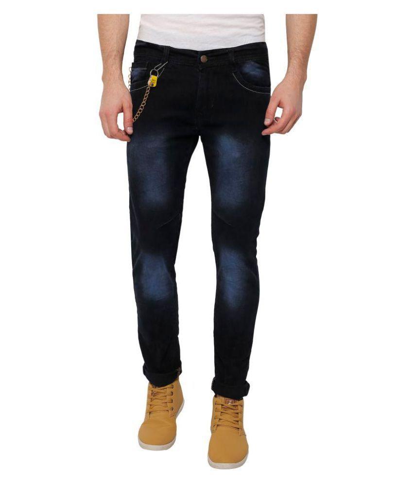 Fashtech creations Black Slim Jeans