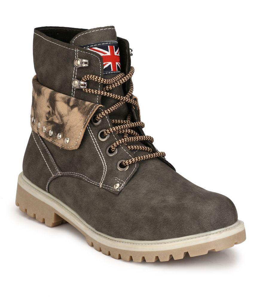Eego Italy Gray Casual Boot