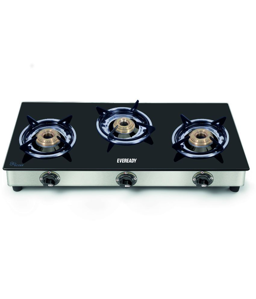 Eveready TGC 3B 3 Burner Manual Gas Stove ...