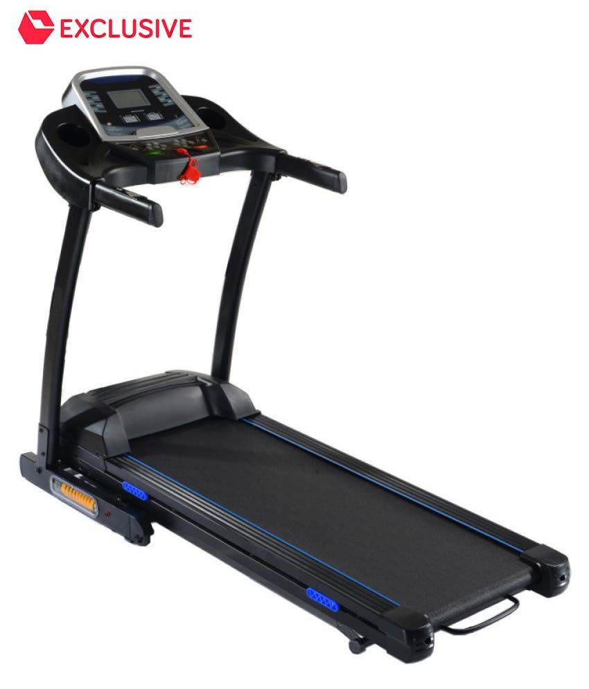 Hp motorized treadmill with auto lubrication system