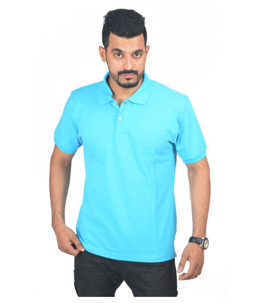 Rockhard Turquoise Round T-Shirt