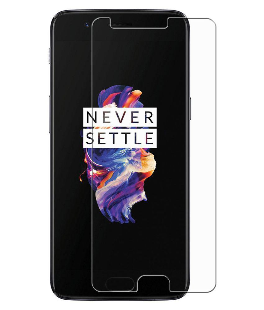 OnePlus 5 Tempered Glass Screen Guard By PraIQ