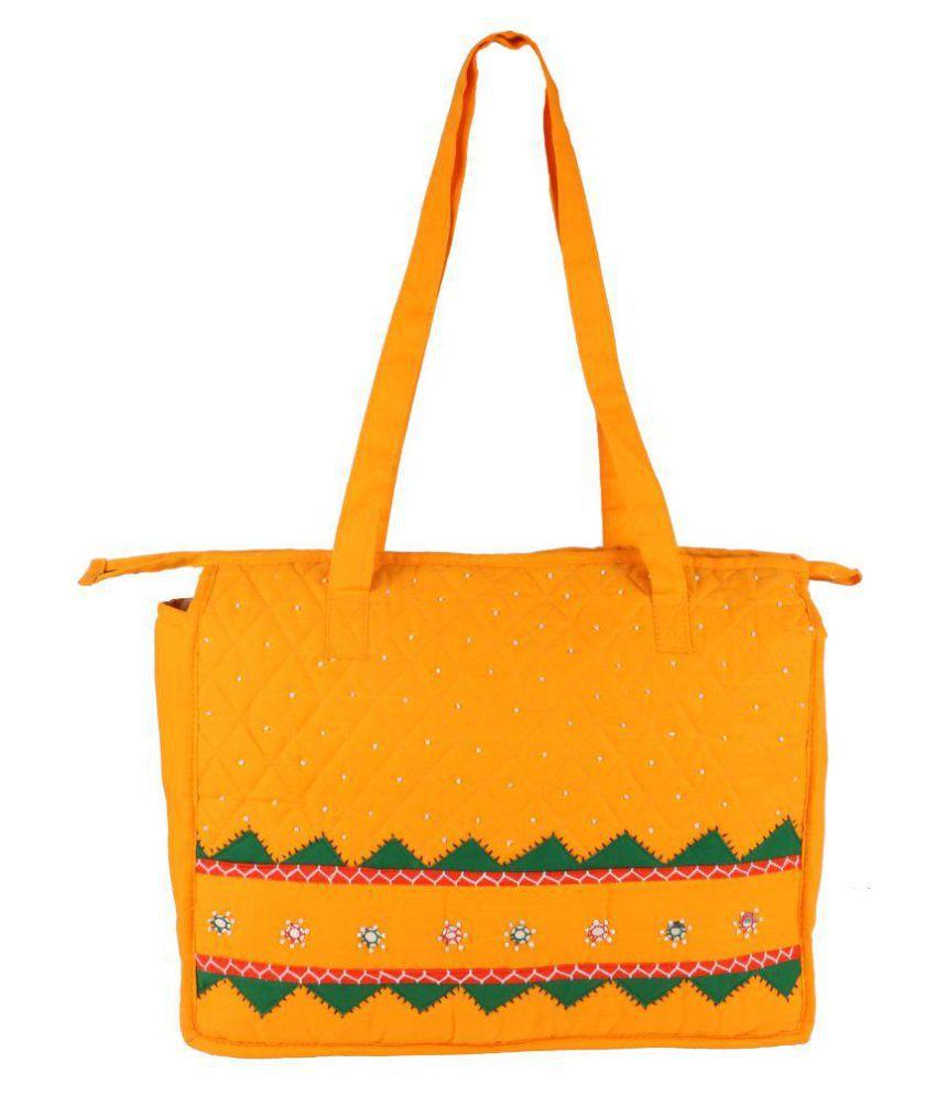 Irin Yellow Shopping Bags - 1 Pc