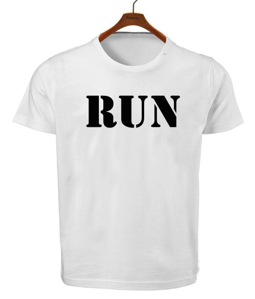 Ritzees White Round T-Shirt