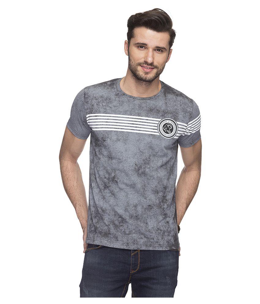 Status Quo Grey Round T-Shirt