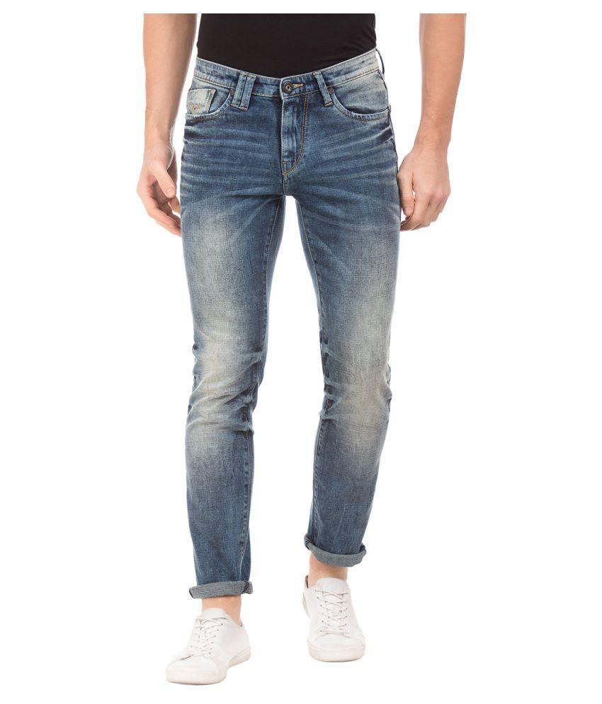 Flying Machine Dark Blue Slim Jeans
