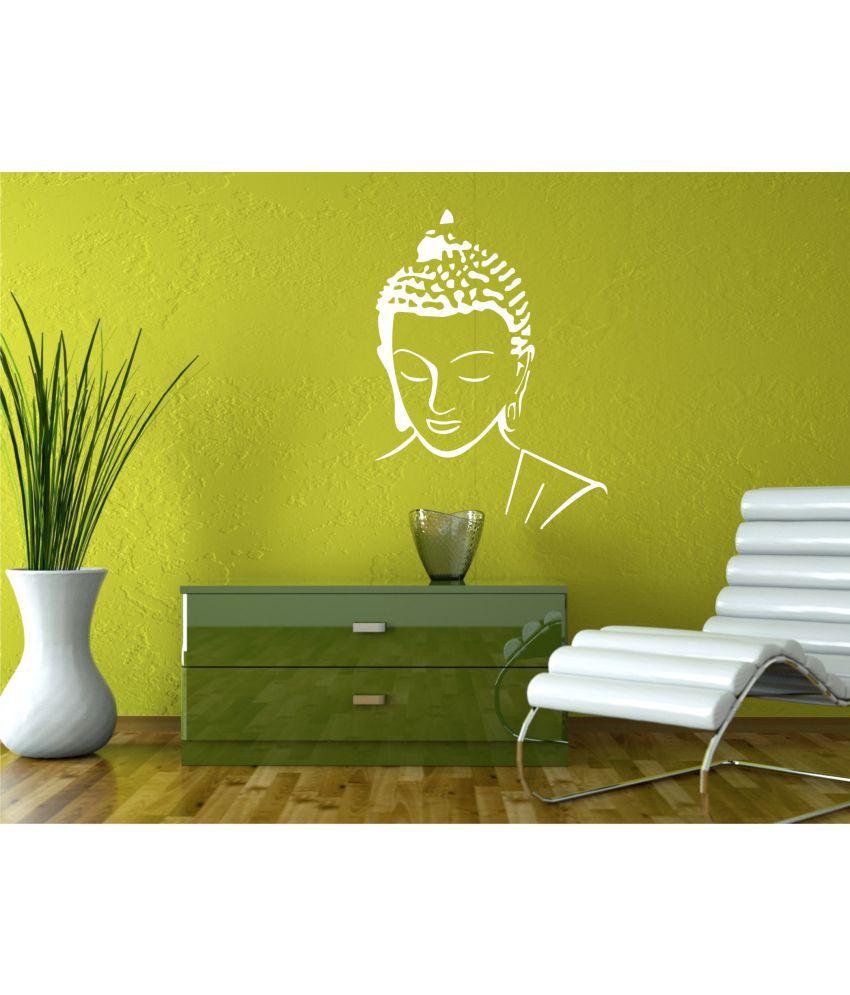 Gautam Buddha Wall Stickers Fx 13 Home Decor Wall Sticker Religion ...