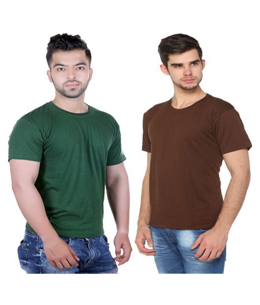 HARBOR N BAY Multi Round T-Shirt Pack of 2